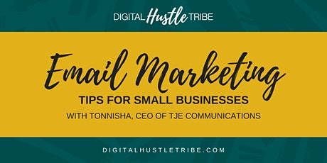 Email Marketing For Small Businesses tickets