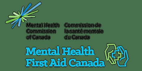 Mental Health First Aid - Basic (Calgary) tickets