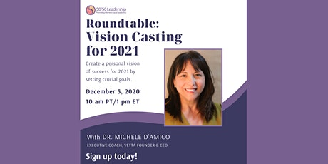 Roundtable: Vision Casting for 2021 tickets