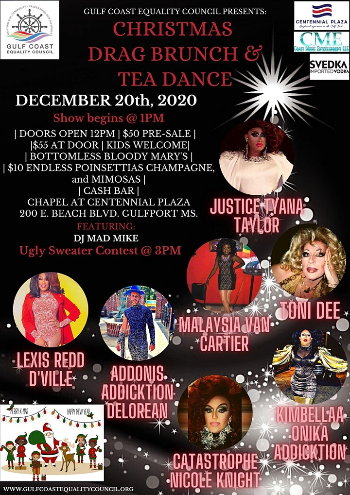 Christmas Drag Brunch and Tea Dance Tickets, Sun, Dec 20, 2020 at