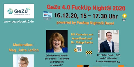 Fuck-up Night von GeZu 4.0 Tickets