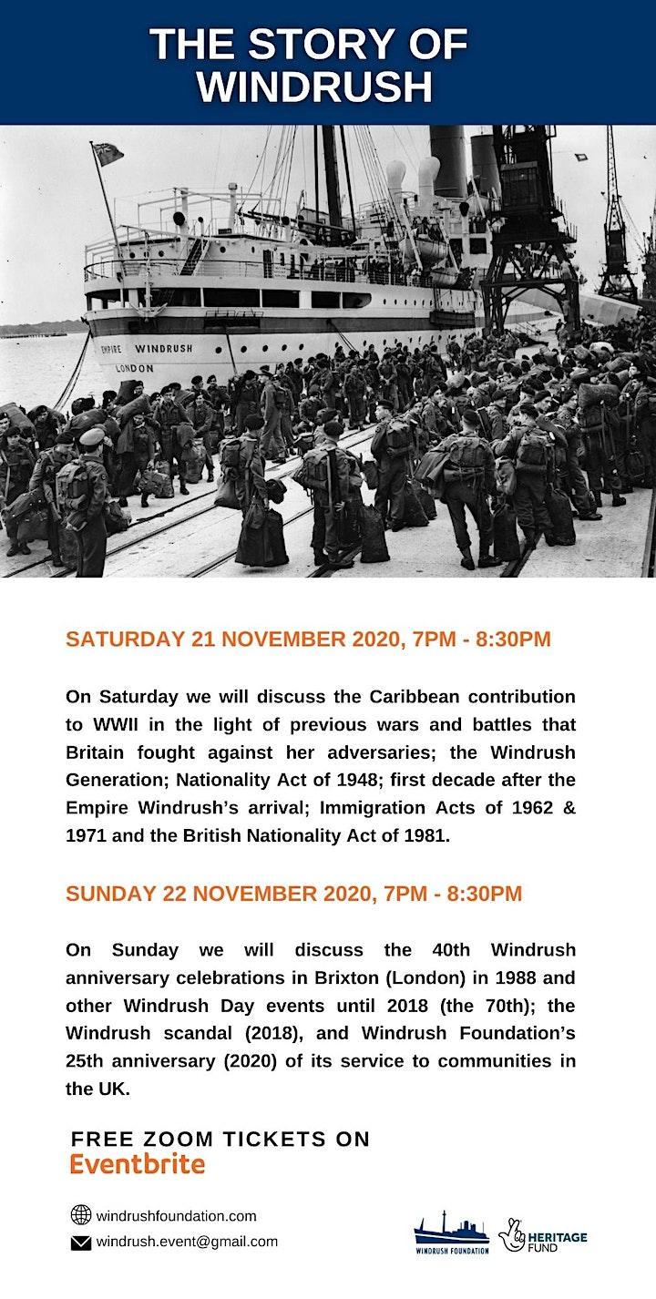 WINDRUSH FOUNDATION PRESENTS: THE STORY OF WINDRUSH image