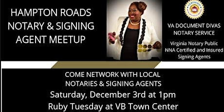 Hampton Roads Notary & Signing Agent Meetup tickets