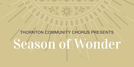 TCC Winter Concert: Season of Wonder tickets