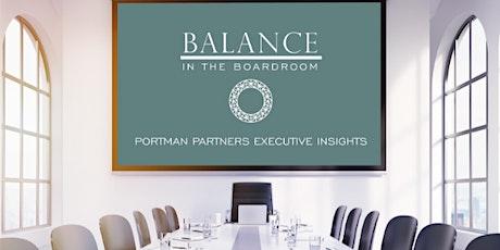 Balance in the Boardroom II - APAC Region tickets