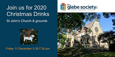 Glebe Society 2020 Christmas Drinks at St John's Church tickets