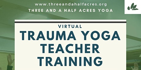 Trauma & Service Yoga Teacher Training tickets