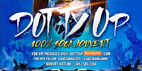 Dutty Up - 100% Soca Jouvert - Miami tickets