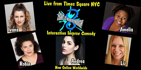 Broadway Comedy Club NYC presents Interactive Musical Improv Comedy tickets