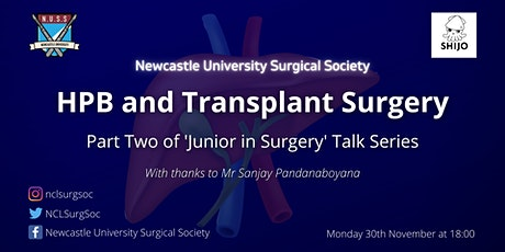 HPB and Transplant Surgery tickets