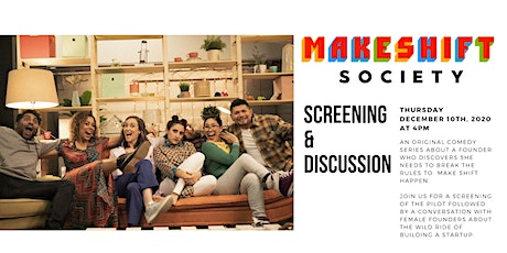 Female Founders screening of Makeshift Society tickets