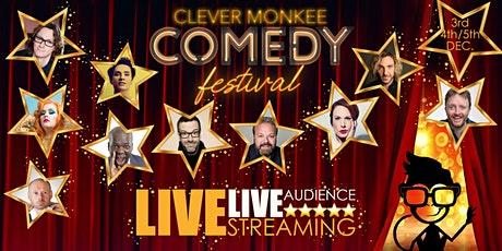 Clever Monkee Comedy Festival ONLINE 4th Dec tickets