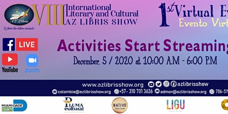 VIII AZ LIBRIS SHOW-SATURDAY 12/05/20 tickets