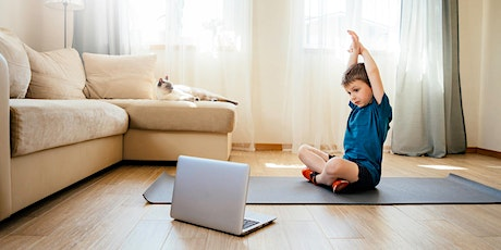 Kids yoga ONLINE ( 6- 12 years) tickets