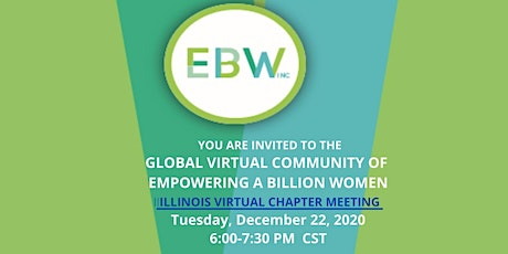 EBW 2020 ILLINOIS VIRTUAL CHAPTER MEETING tickets