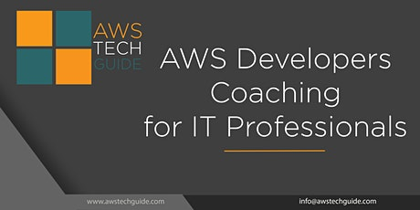 AWS Developers Coaching for IT Professionals - 8 Sessions tickets