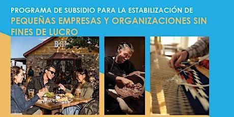 Preguntas y Respuestas Semanales sobre El Subsidio para Pequenas Empresas boletos