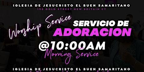Servicio De Adoración / Worship Service tickets