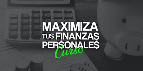 Curso Online Gratuito Maximiza tus Finanzas Personales tickets
