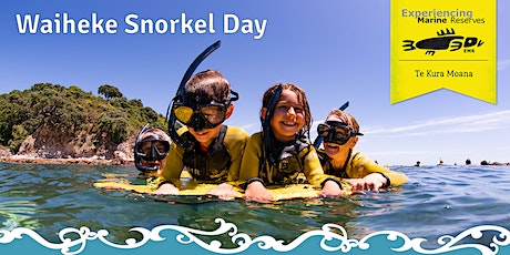 Waiheke Snorkel Day tickets