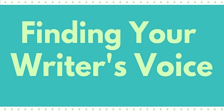 Finding Your Writer's Voice tickets