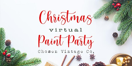 Christmas Virtual Paint Party tickets