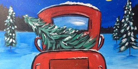Little red truck! Paint night in Rockland tickets