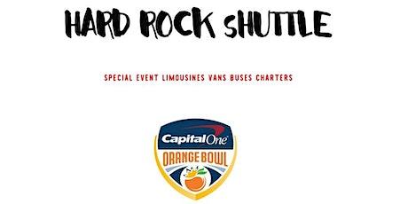 Bus to Orange Bowl Game  - Downtown Miami to Hard Rock Stadium tickets