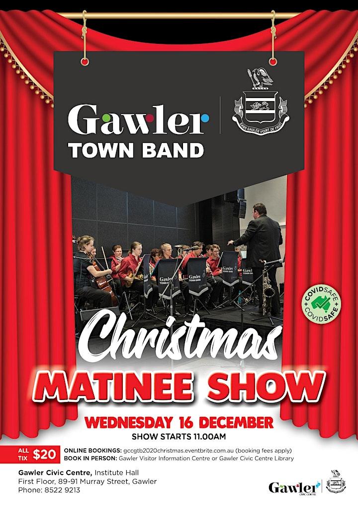 Gawler Town Band Christmas Matinee Show image