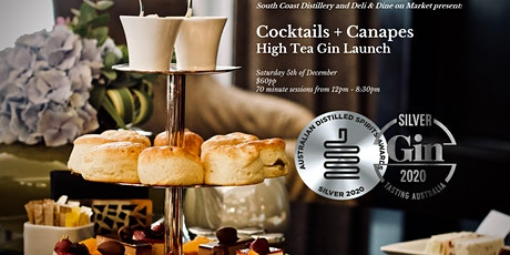 Canapes + Cocktails - (High) Tea Launch at South Coast Distillery tickets