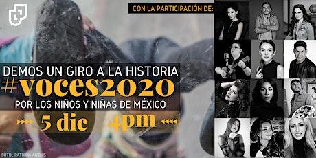 #VOCES 2020 boletos