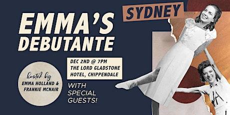 Emma's Debutante tickets