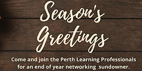 PLP presents End of Year Networking Sundowner tickets