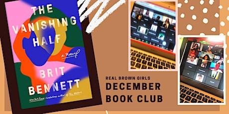 Online Event: Dec Book Club: The Vanishing Half tickets