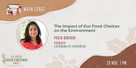 The Impact of Our Food Choices on the Environment tickets
