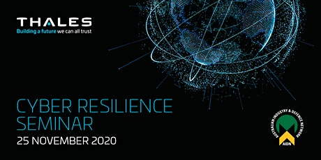Cyber Resilience Seminar - Thales Australia tickets