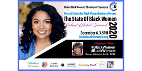 GBWCC presents The State of Black Women Virtual Summit tickets
