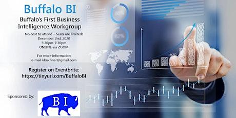 Buffalo Business Intelligence (BI) Workgroup tickets