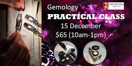Gemology Practical Class tickets