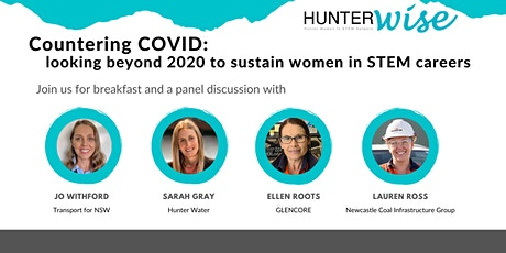 LIVE - Countering COVID-19 – looking beyond 2020 to sustain women in STEM tickets