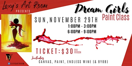 Girls Night Paint Class tickets