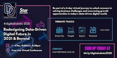 #digitalXdata 2020: Redesigning Data-Driven Digital Future in 2021 & Beyond tickets