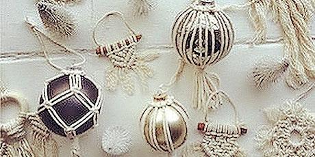 Bohemian Ornaments using Macrame Techniques tickets