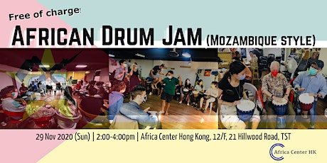 African Drum Jam (Mozambique Style) tickets