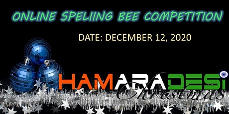 Hamara Desi Christmas - Spelling Bee 2020 tickets