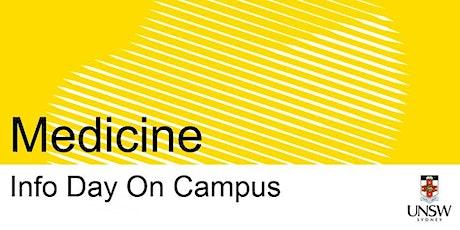 UNSW Info Day - Medicine tickets