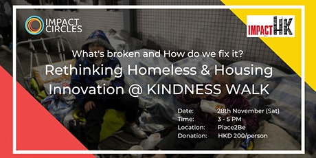 "Rethinking Homeless & Housing Innovation @ ""Kindness Walk"""