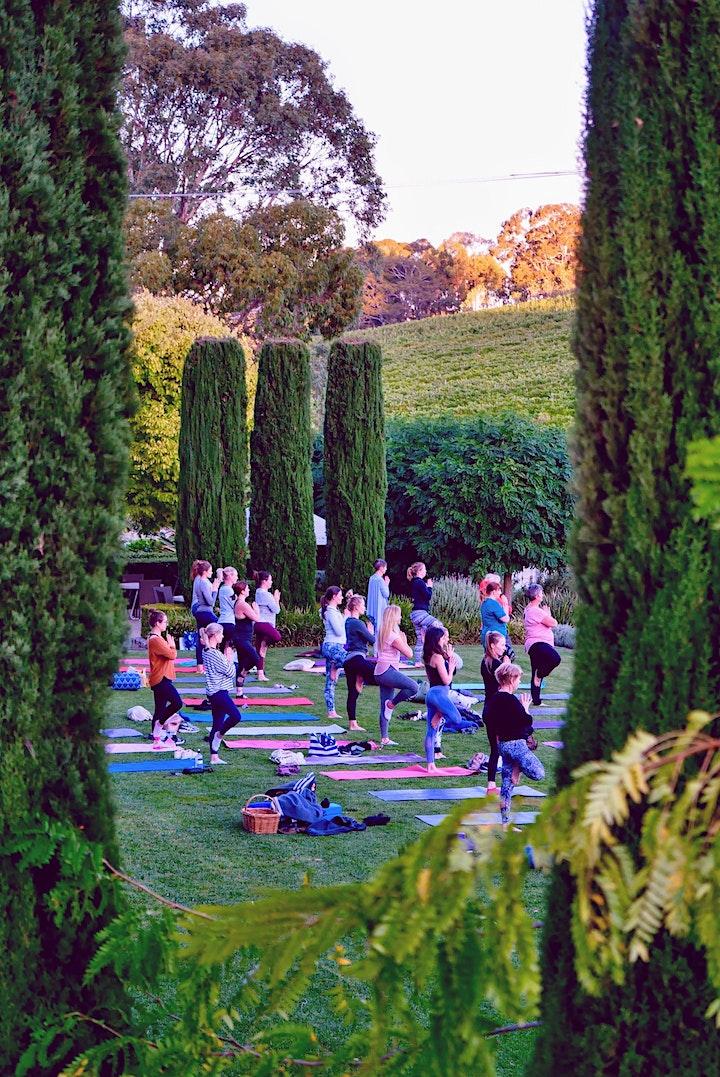 Summer Golding Delicious Wine & Yoga image