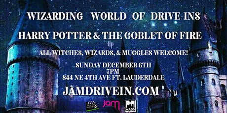 Harry Potter & the Goblet of Fire Drive-In tickets