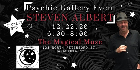 Steven Albert: Psychic Medium Gallery Event Magical Muse 12/22 tickets